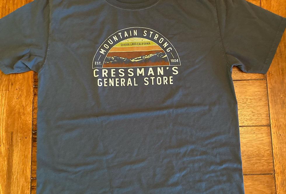 Cressman's Mountain Strong T-Shirt Navy