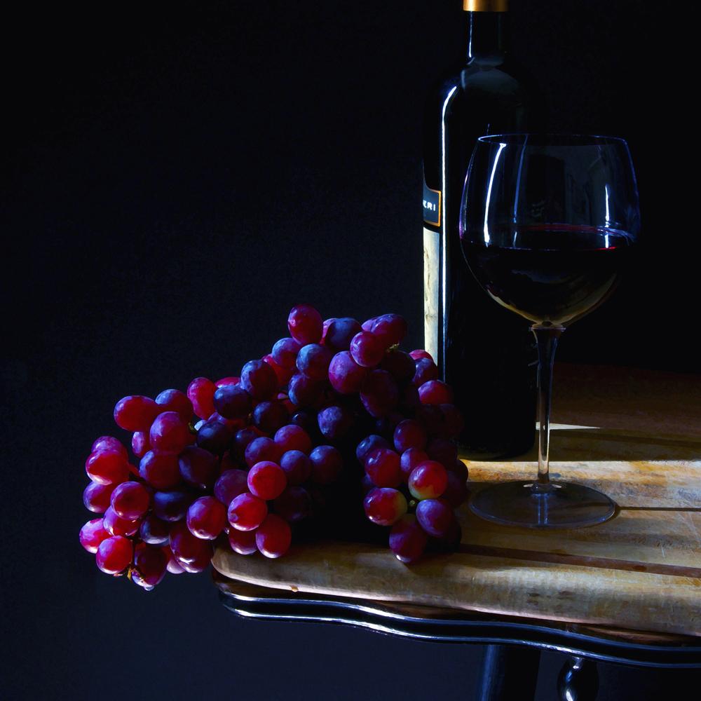 Grapes & Wine 10x10 A