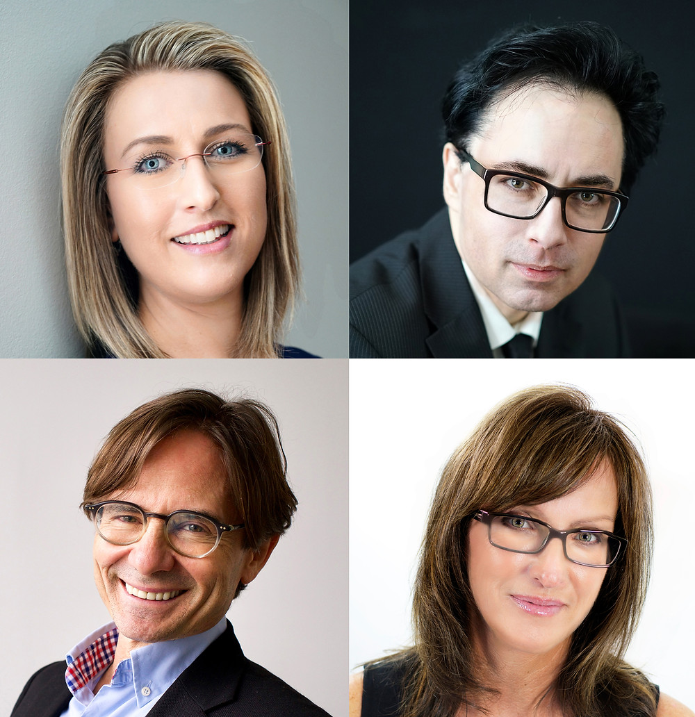 A professional Photographer can take head shots without capturing any glare in the glasses.