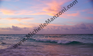 Cuban Beach Sunset
