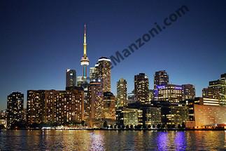 Toronto Skyline At Night
