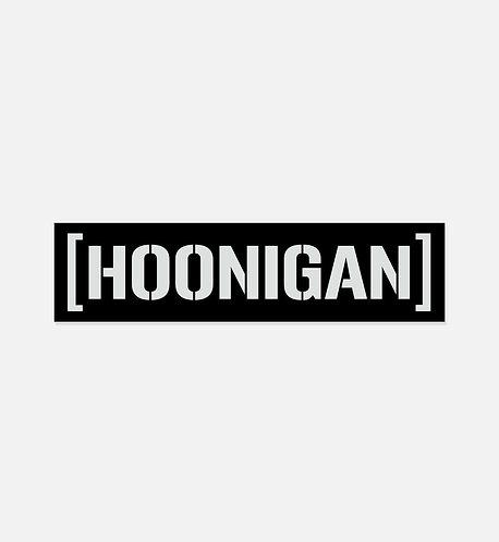 HOONIGAN Censor Bar Sticker