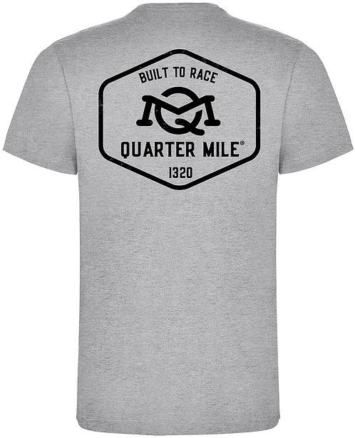 Quarter Mile Emblem T-Shirt (Grey)