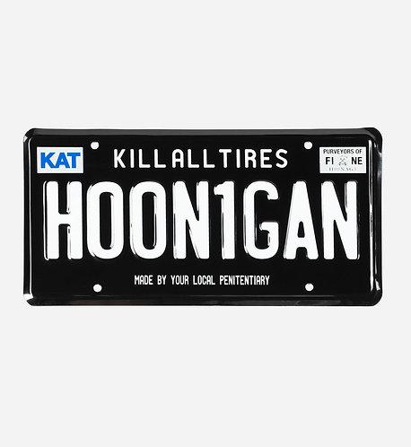 HOONIGAN Licence Plate