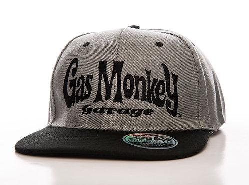 GMG Snapback Logo Grey