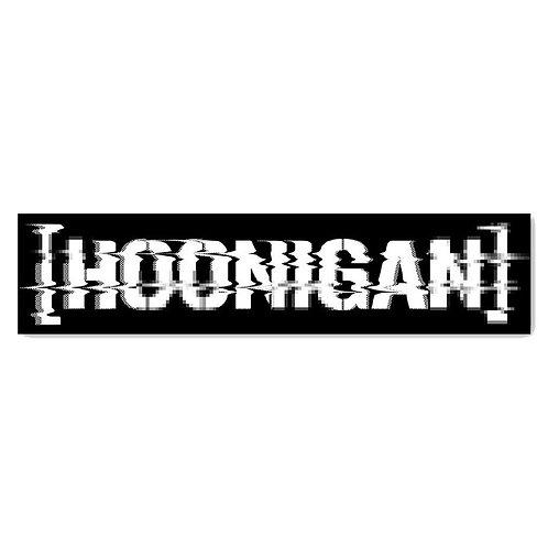 Hoonigan Glitch Censor Bar Sticker
