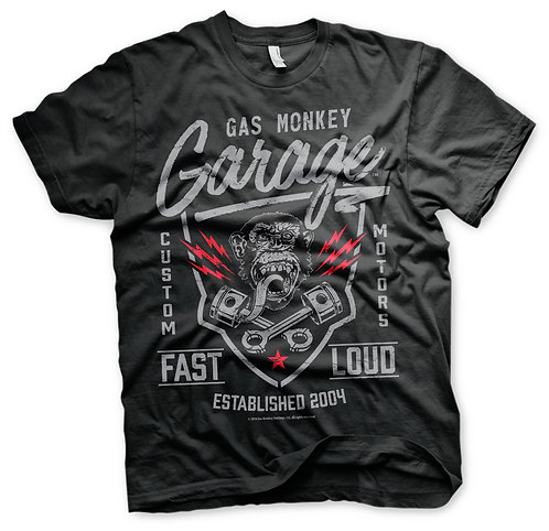 GMG Fast and Loud Tee