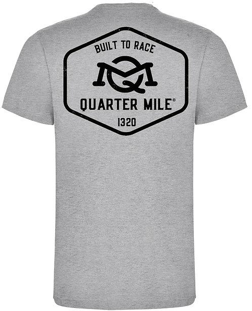 Emblem Quarter Mile T-Shirt (Grey)