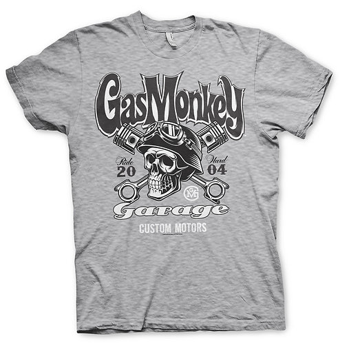 GMG Custom Motors Skull Tee