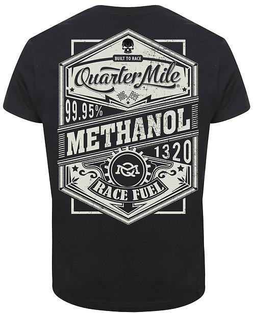 Methanol Quarter Mile T-Shirt (Black)