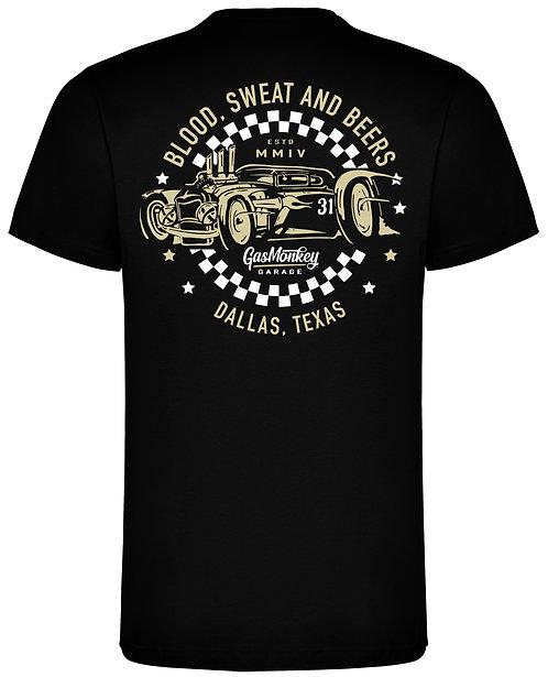 GMG Car 31 Chequered Circle T-Shirt