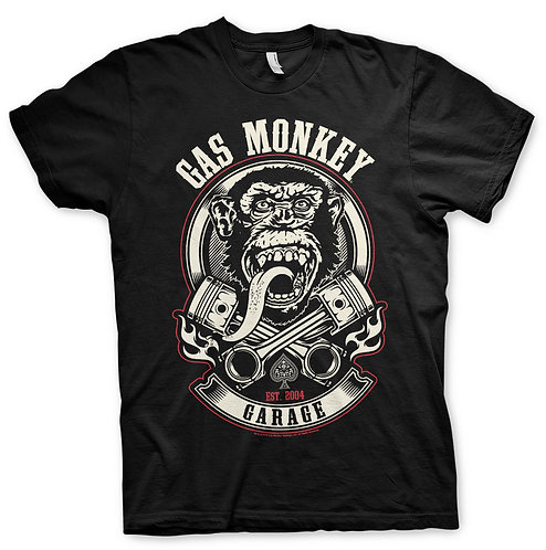 GMG - Pistons & Flames T-Shirt