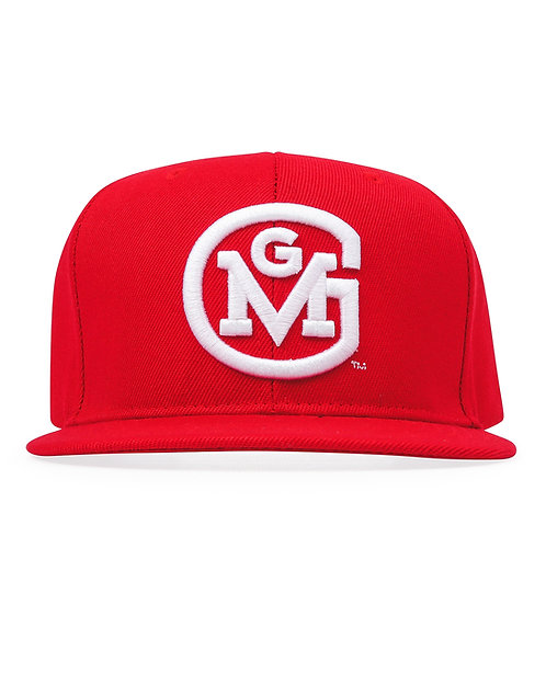 GMG Initial Logo Snap back cap Red