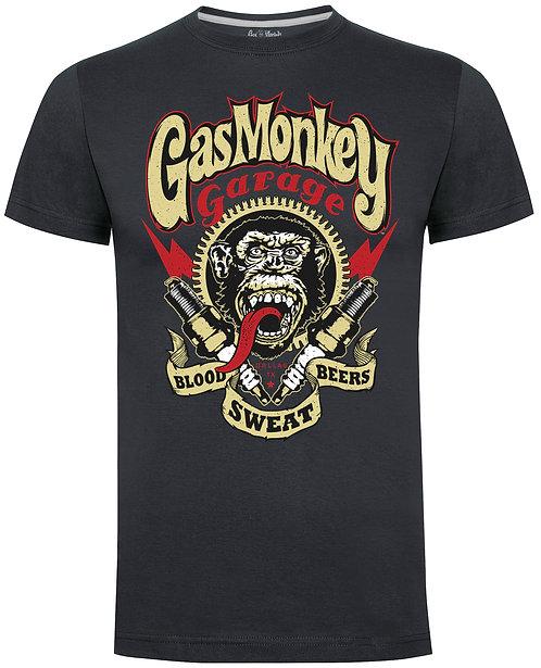 GMG Spark Plug T-Shirt (Charcoal)