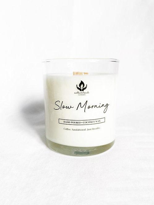 Slow Morning Candle