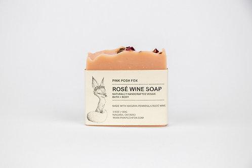 Rose Wine Soap