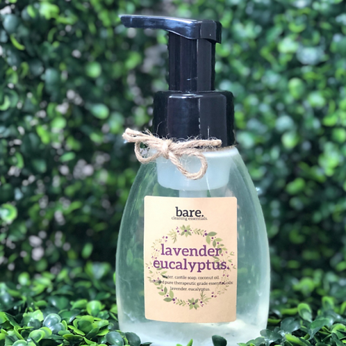 Lavender and Eucalyptus Foaming Hand Soap