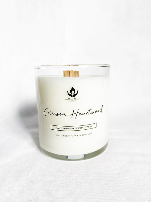 Crimson Heartwood Candle