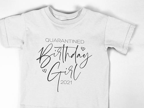 Quarantine Birthday Girl