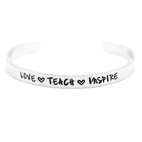 LOVE. TEACH. INSPIRE.