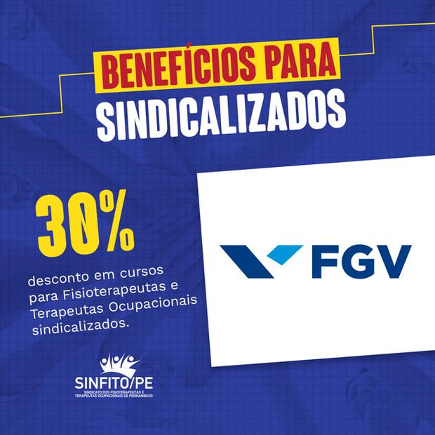 SINFITO/PE fecha parceira com a FGV