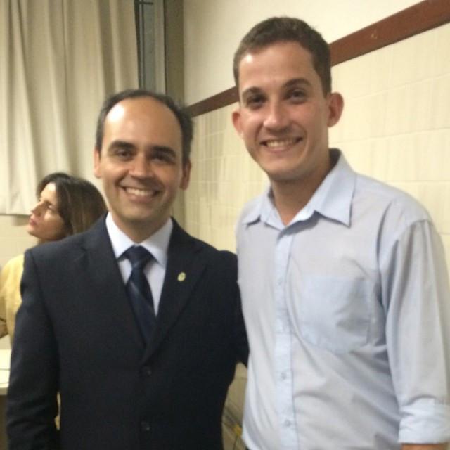 PE, Dr. João Bôsco, foi convidado para participar da palestra do Dr.jpg