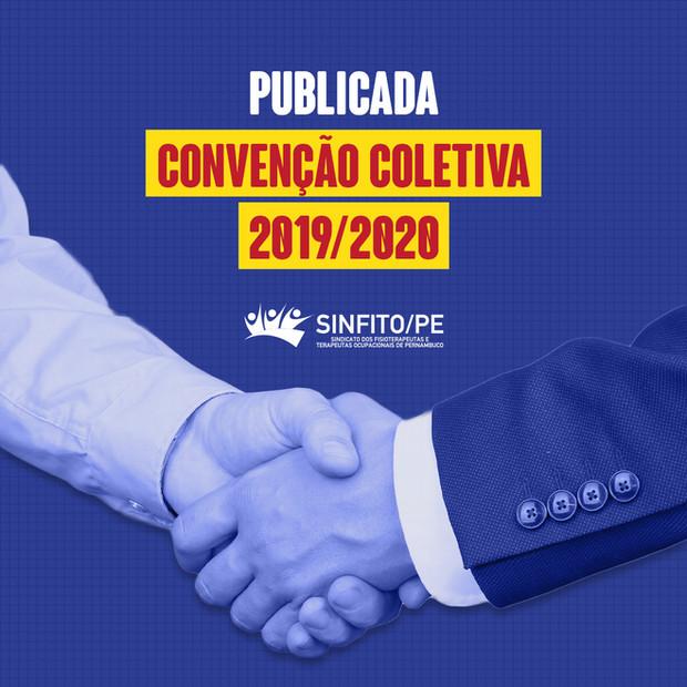 Publicada Convenção Coletiva 2019/2020