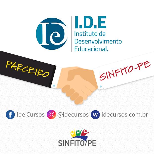 Parceiro do Sinfito/PE oferece cursos de Pós-Graduação com 15% de desconto nas mensalidades