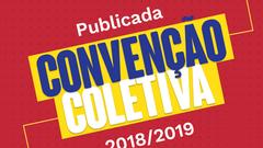 Publicada Convenção Coletiva 2018/2019