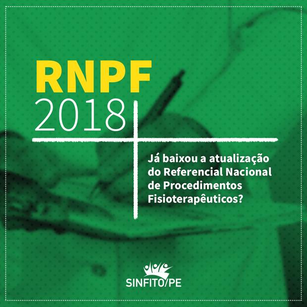 COFFITO: faça download do RNPF com valores 2018