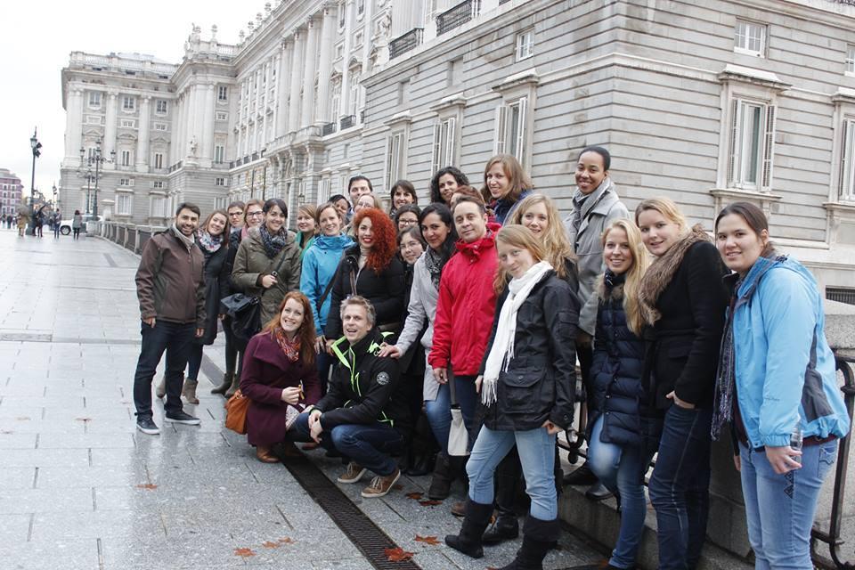 Visiting Madrid! The Royal Palace.