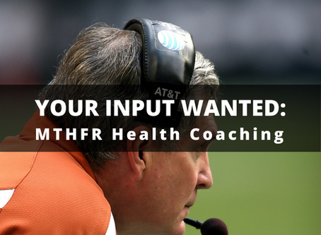 What the MTHFR is a Health Coach Anyway?