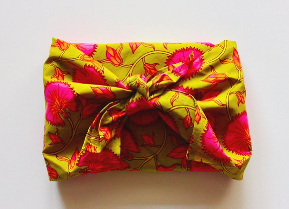 Tissu d'emballage Furoshiki moyen