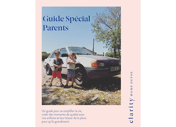 Guide spécial Parents CLARITY Français