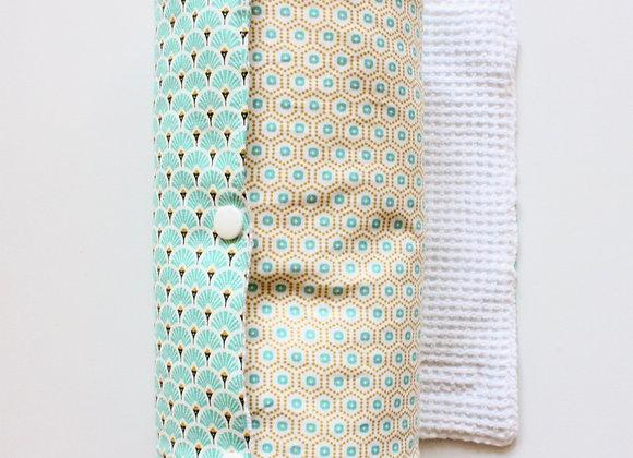 Essuie-tout lavable en coton