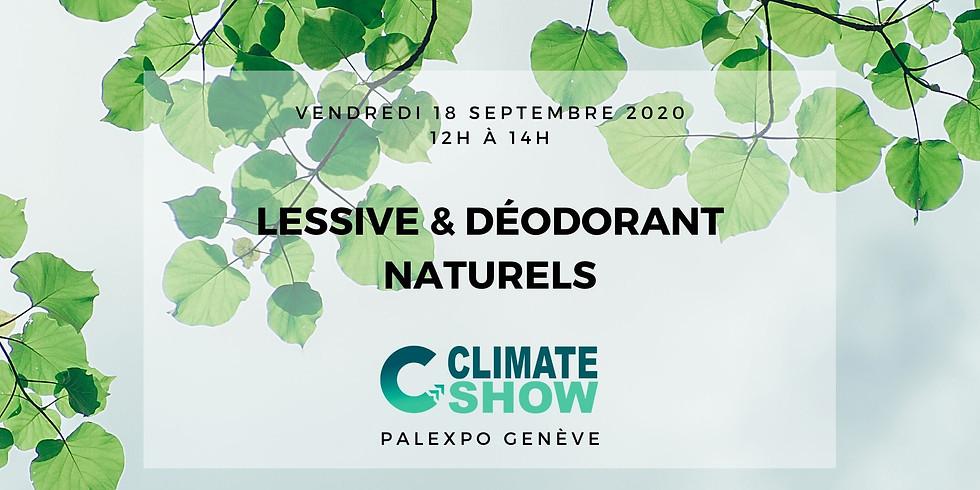 Salon du Climat de Genève - Lessive & déo naturels