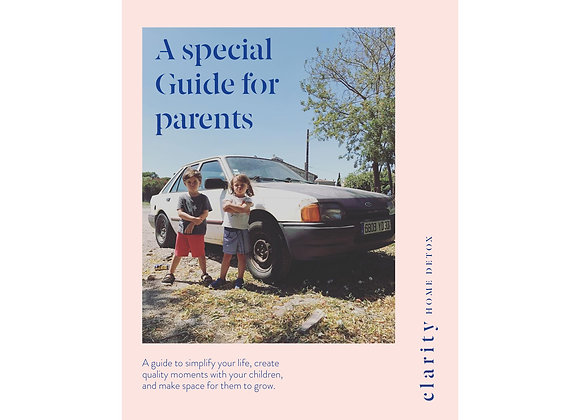 A Special Guide For Parents - CLARITY English