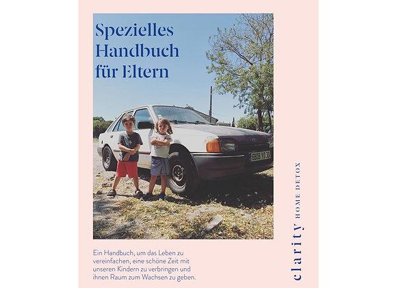 Spezielles Handbuch Eltern - CLARITY Deustch