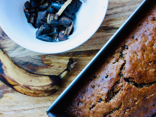 Cake aux bananes trop mûres