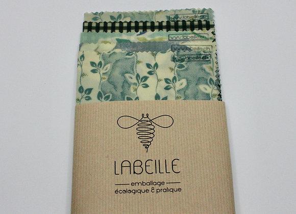 Beeswrap Le Set Complet emballage écologique