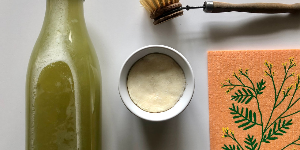 "Atelier ""Lessive naturelle & Cake vaisselle"""