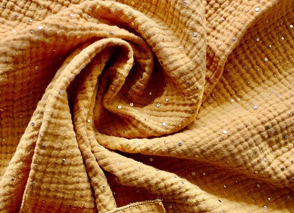 Tissu d'emballage Furoshiki en gaze de coton