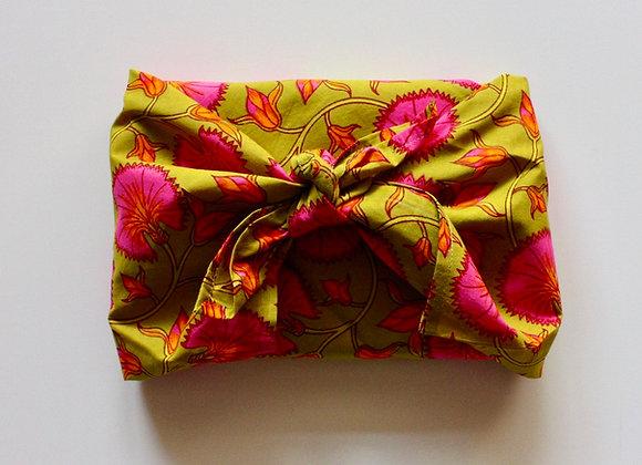 Tissu d'emballage Furoshiki en coton