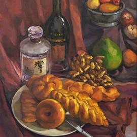 Still Life - Bread and Wine