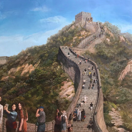 Great Wall of China in September