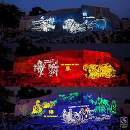 Haw Par Villa's New Outdoor Art Projection / Light show