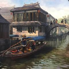 ZhouZhuang Water Town, Suzhou Prefecture