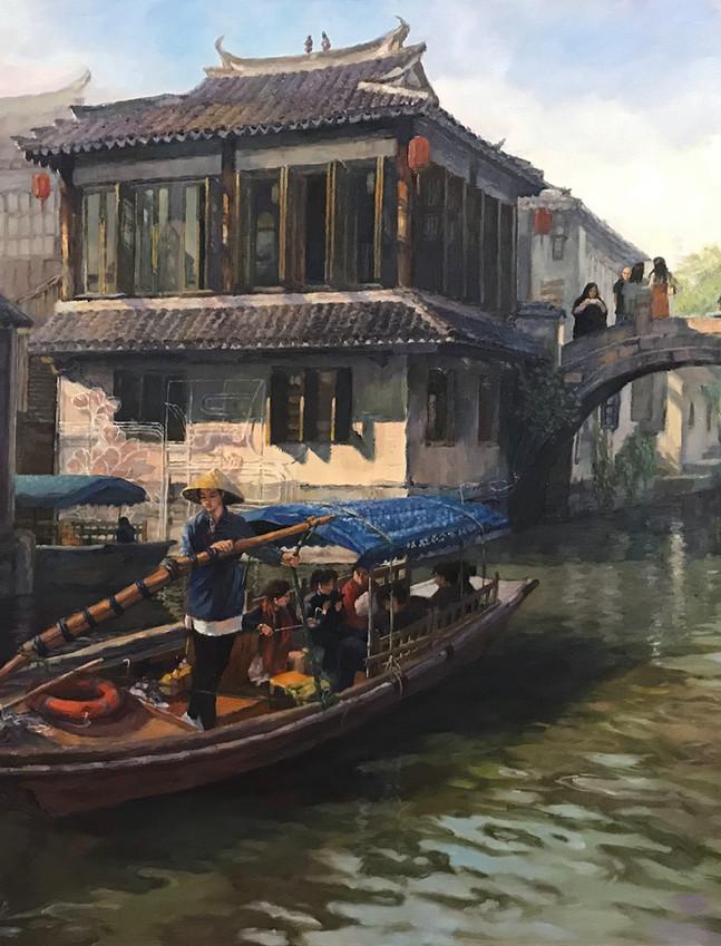 ZhouZhuang Water Town, Suzhou Prefecture 周庄水乡, 苏州_Iphone.jpg