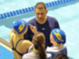 Velo-CT Head Swimming Coach Dennis Flores