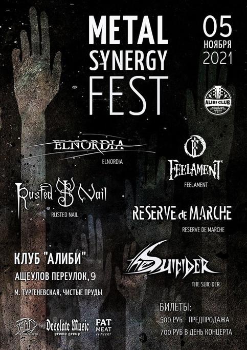 METAL SYNERGY FEST | 05/11/2021 | Alibi